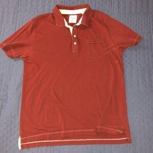 Billy Reid Mens Polo Size L